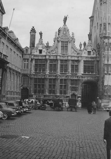 alte kanzlei, Architektur, auto, belgien, Brügge, KFZ, Kutsche, Oude Griffie, PKW, Rathaus