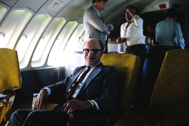 anzug, bar, Bord, business class, first class, flugzeug, reise, sitz, uhr, zigarette