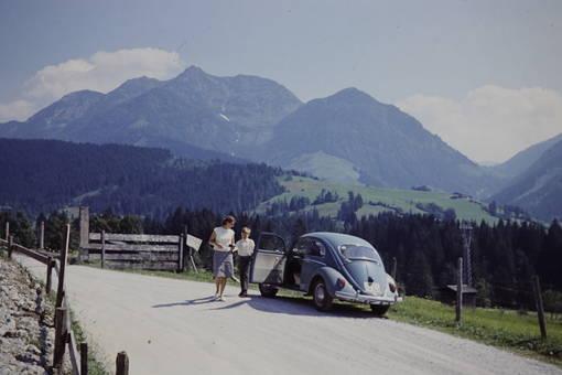 Unterwegs mit dem Käfer