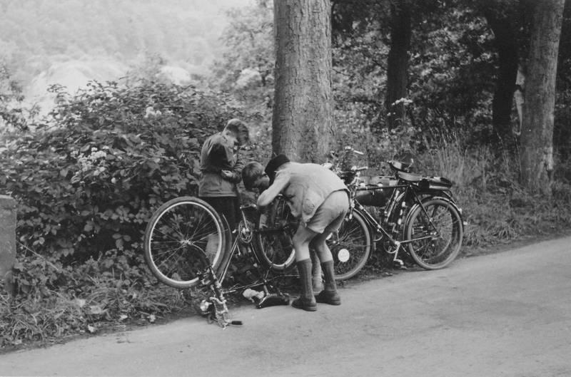 fahrrad, flicken, rad, Reparatur, reparieren