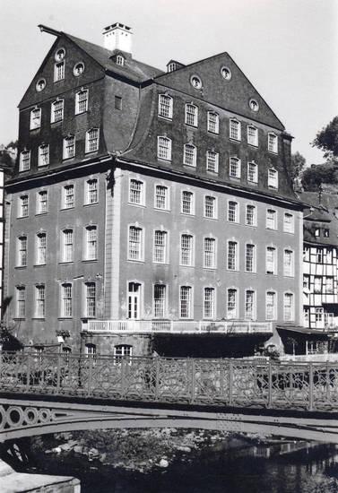 brücke, haus, Museum, Rotes Haus