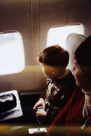 Fenster, flugzeug, Kindheit, Pullover, reise, urlaub, Urlaubsreise