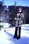 Modisch im Schnee