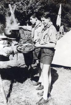Pfadfinder kochen