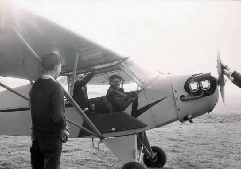 fliegen, flugzeug, Kindheit, motorflugzeug, Pilot, Piper PA-18