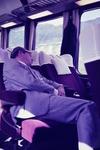 Schlafen im Zug