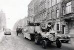Karnevalswagen auf der Straße