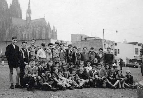 Klassenfoto in Köln