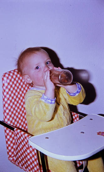 Flasche, kindersitz, Kindheit, Küche, trinken