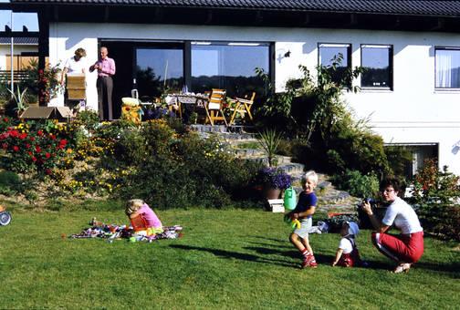 Sommertag im Garten