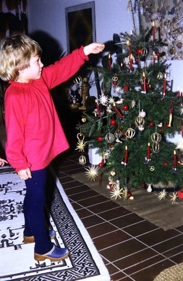 Kerze, Kindheit, Tannenbaum, Weihnachten, Weihnachtszeit, Wunderkerze