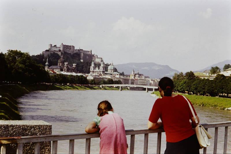 ausflug, Berg, festung hohensalzburg, kirche, Salzach, Salzburg, urlaub
