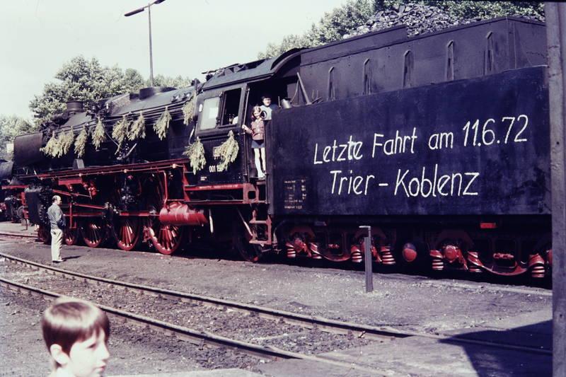 Dampflok, DB, Deutsche Bahn, fahrt, Koblenz, Trier, zug