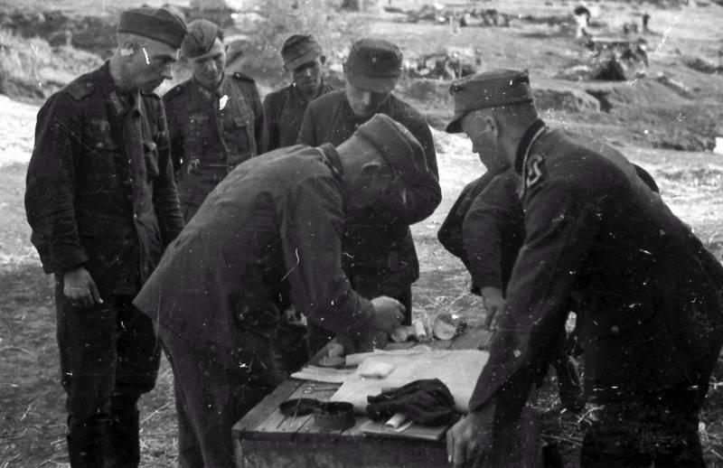 Sonne, Sonnenschein, tisch, Uniform, Wehrmacht, zweiter weltkrieg