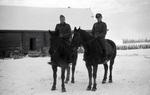 Soldaten auf Pferden