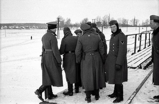 Soldaten im Schnee
