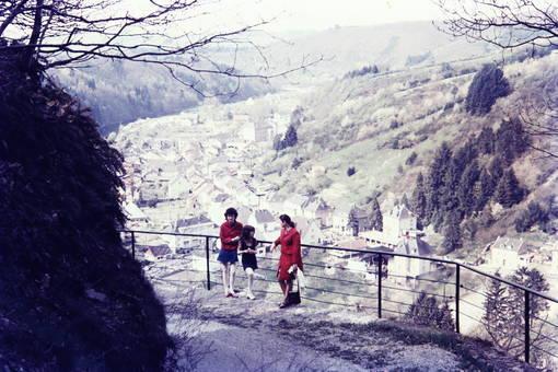 Ausblick beim Ausflug