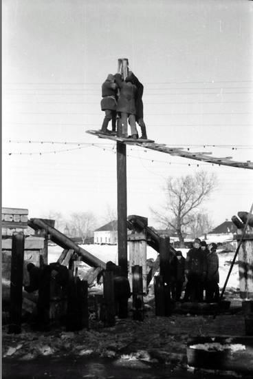arbeit, soldat, strommast, Wehrmacht, wehrmachtssoldat