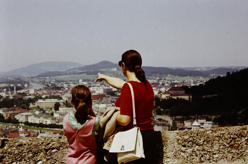 Ausblick, ausflug, ferien, Festung, Hohensalzburg, Österreich, reise, Salzach, Salzburg, urlaub, zeigen