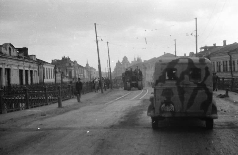auto, KFZ, Militär, PKW, straße, Wehrmacht, zweiter weltkrieg