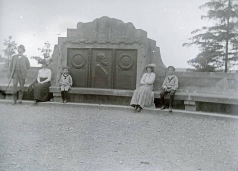 Besuch am Hermannsdenkmal