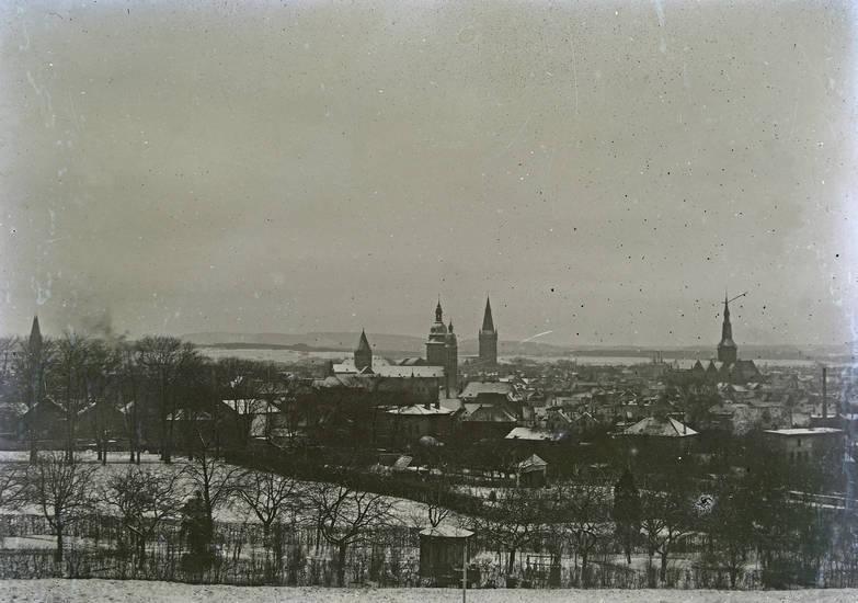 kirche, Kirchturm, Panorama, stadt
