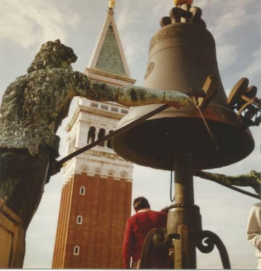 Campanile, Italien, Markusplatz, Piazza San Marco, Torre dell'Orologio, Uhrturm, Venedig