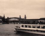 Hohenzollernbrücke vor 1958