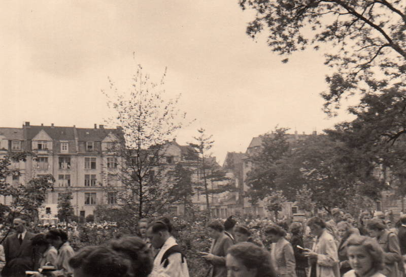 Glaube, kirche, Köln-Nippes, Leipziger Platz, Prozession, Religion