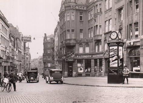 Straßenszene Köln