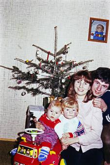 Familienglück an Weihnachten