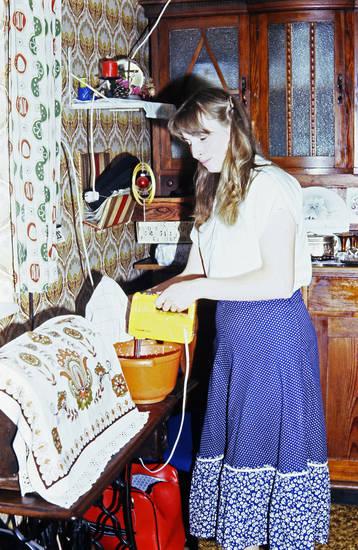 Backen, Decke, Handmixer, Kochen, Küche, Rührgerät, Sahne, tapete, Teig