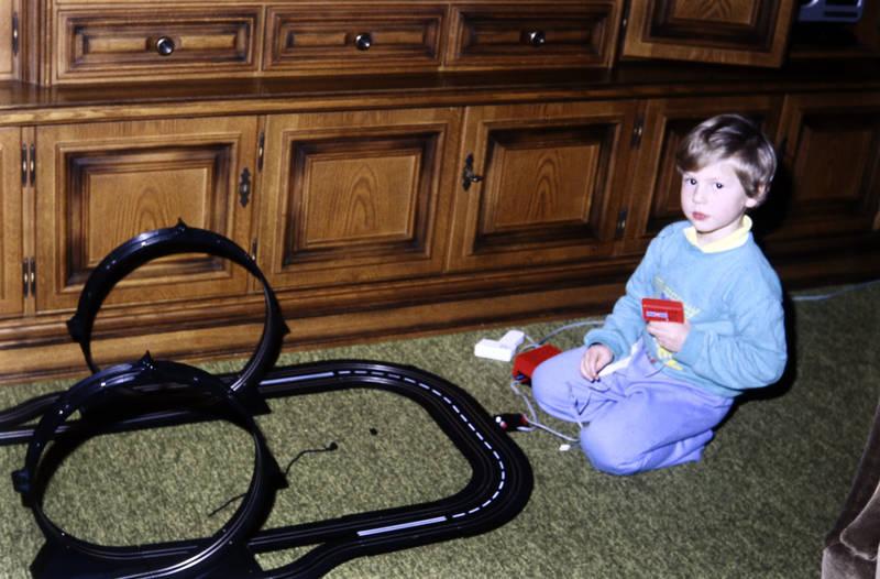 Carrera, Carrera-Bahn, Kindheit, looping, spielen, Spielzeug