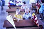 Stolze Schulkinder