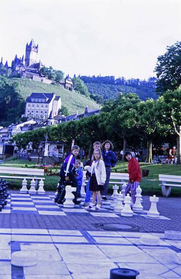 ausflug, familie, reichsburg, Reichsburg Cochem, Schach, schachfeld, Schachfigur