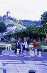 Schach im Schatten der Burg