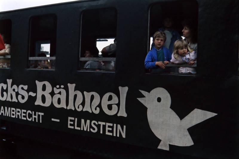 ausflug, bahn, Elmstein, familie, Kuckucksbähnel, Lambrecht, reise, Windel, zug, Zugfenster