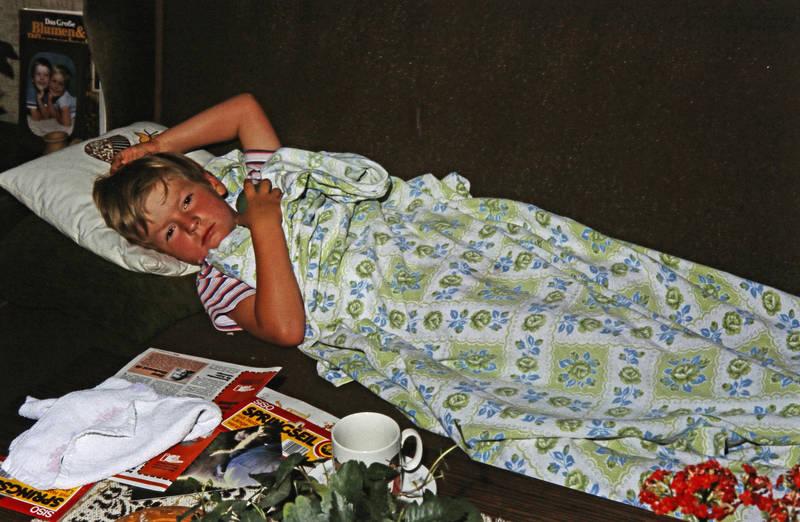 Decke, Kindheit, schlafen, sofa, Zeitschrift