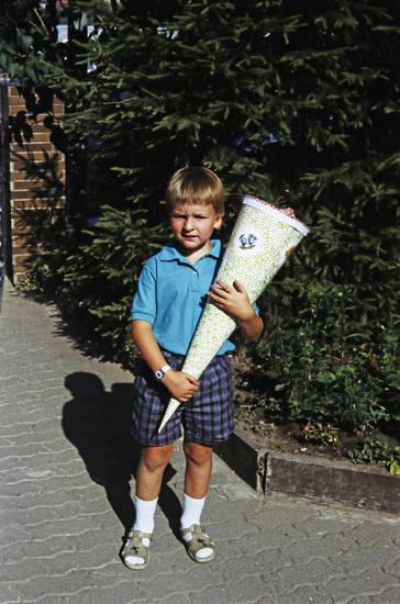 Erster Schultag, Kindheit, Schüler, Schulkind, Schultüte