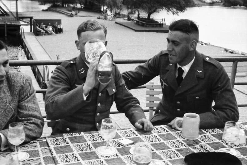 Bier, Glas, Luftwaffe, soldat, Stiefelglas, Uniform, Wehrmacht