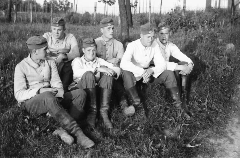 baum, gras, soldat, stiefel, Uniform