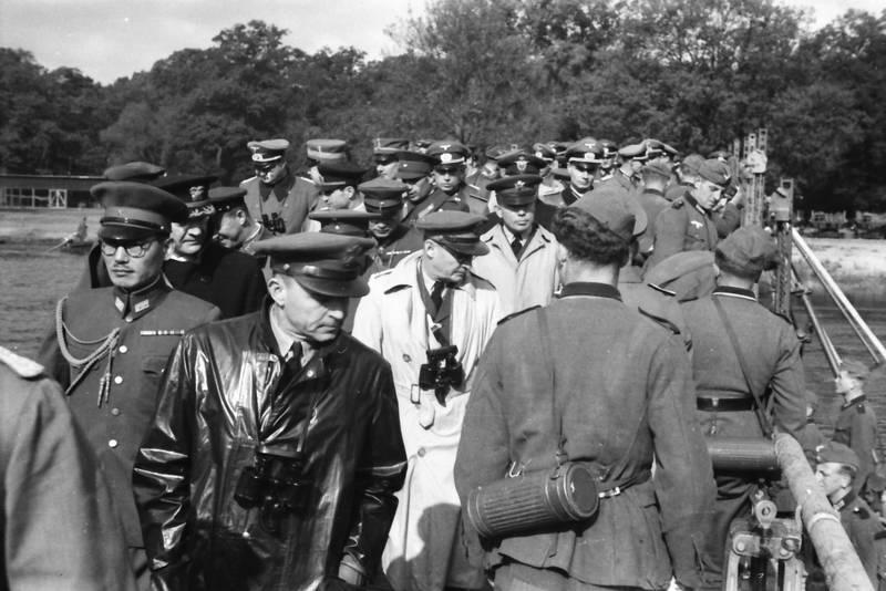 brücke, Fernglas, hut, offiziere, soldat, Uniform, Wehrmacht