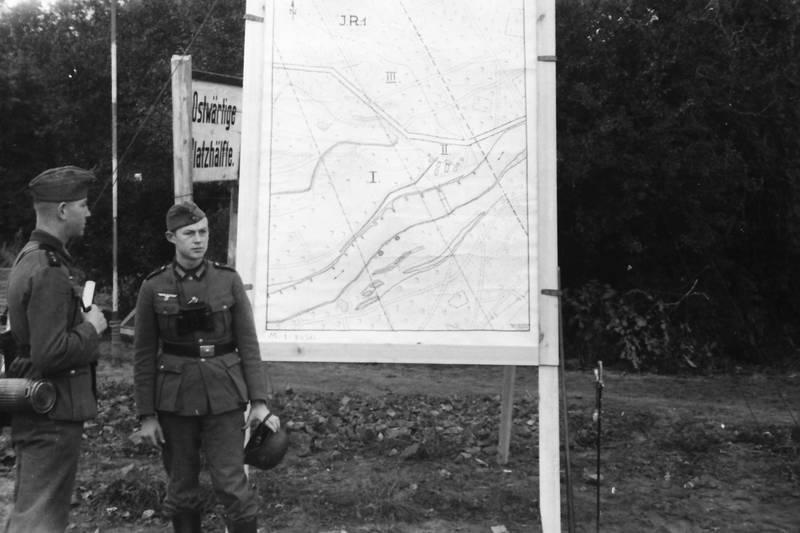 Geländeplan, Helm, NS, soldat, Uniform
