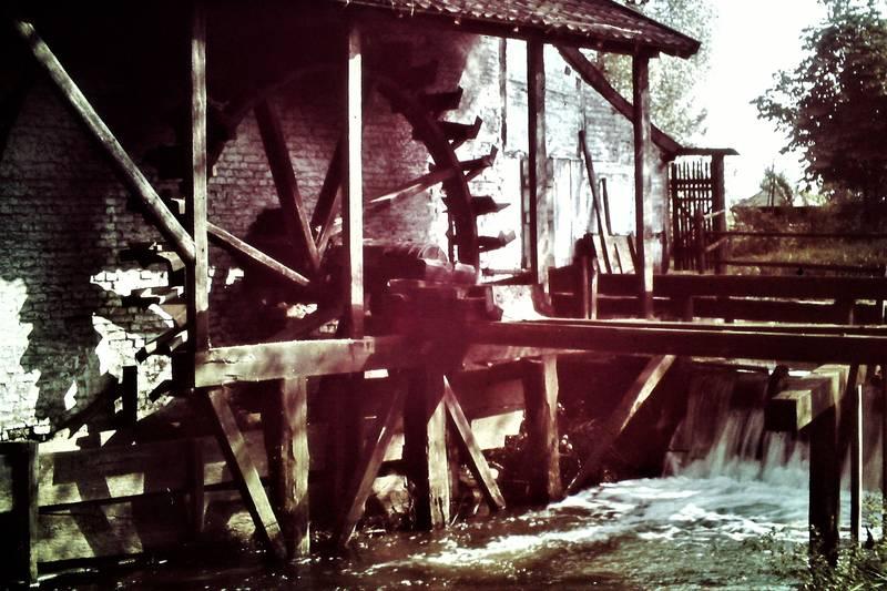 Düsseldorf, farbfotografie, Kalkum, Mühle, Wassermühle