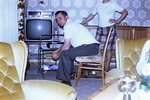 Im Wohnzimmer