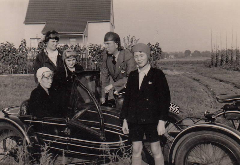 anzug, beiwagen, Motorrad, Schutzbrille