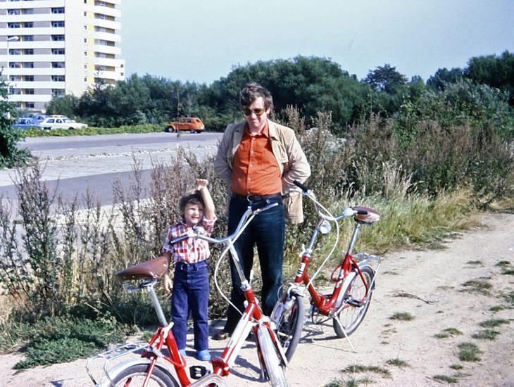 fahrrad, familie, ferien, Kindheit, urlaub