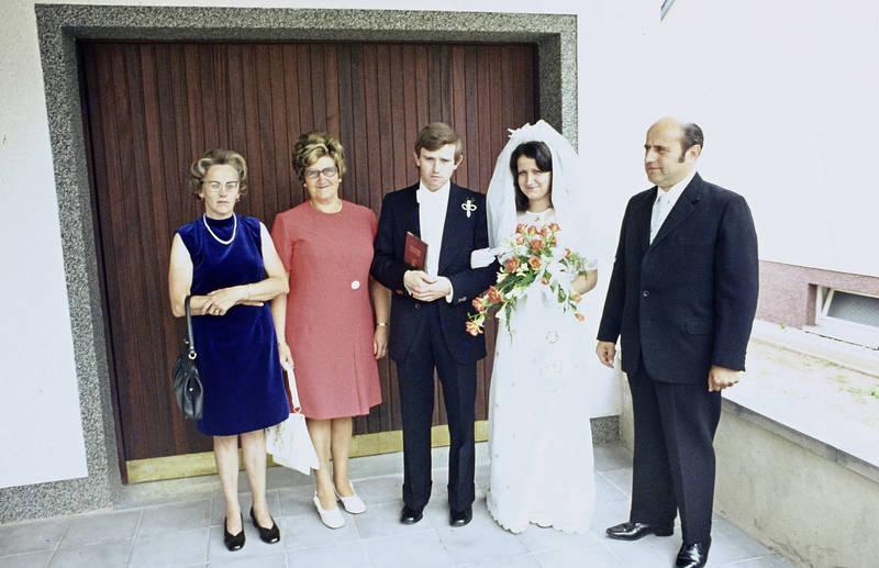 Braut, Bräutigam, ehepaar, Hochzeit