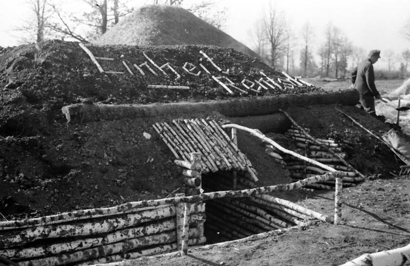 2.Weltkrieg, bunker, Einheit Rentsch, Graben, schützengraben, soldat, Uniform