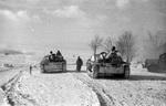 Panzer auf dem Vormarsch